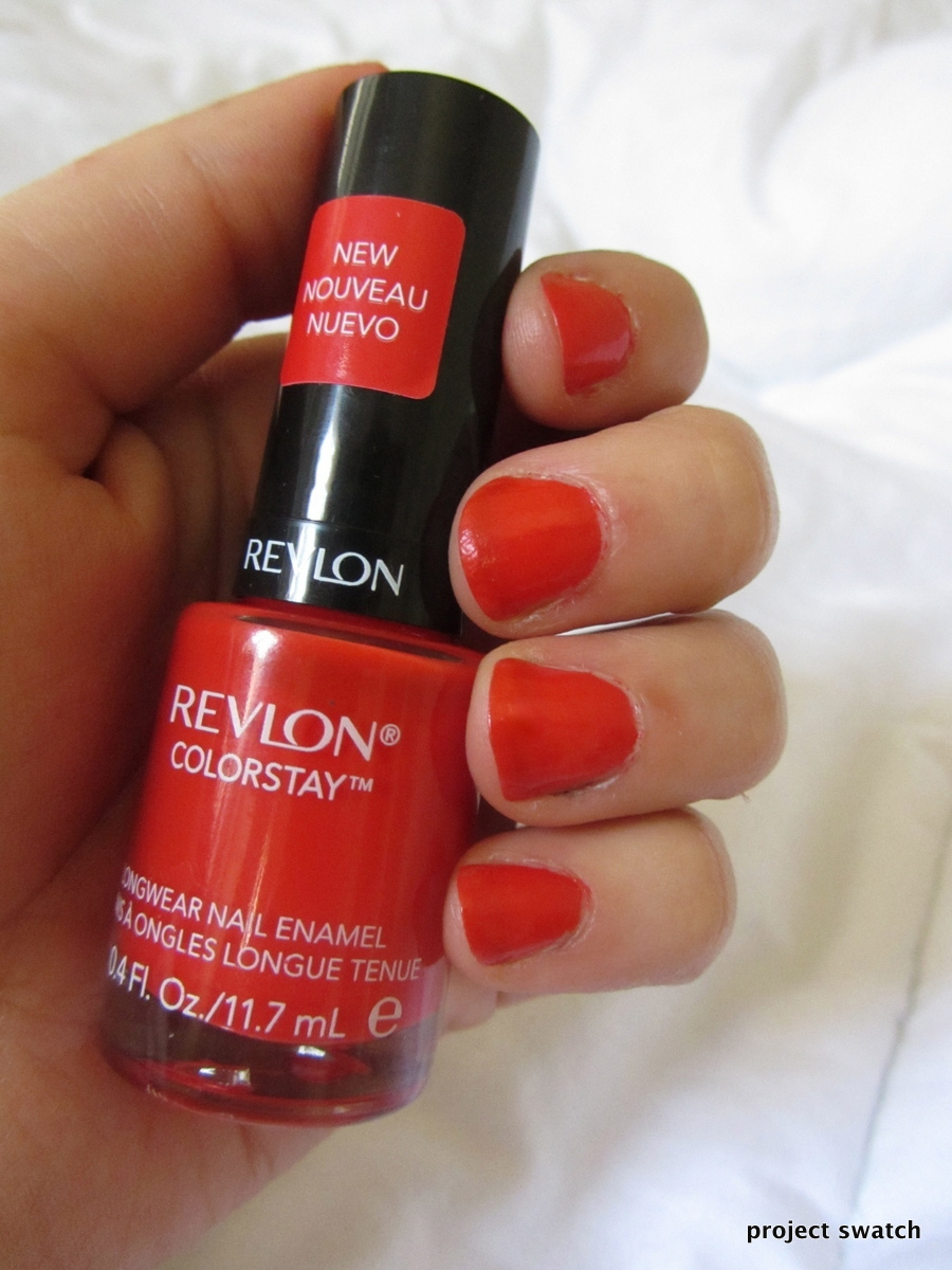 Delicious Nail Designs: Revlon Delicious Colorstay Nail Polish Swatch, Review