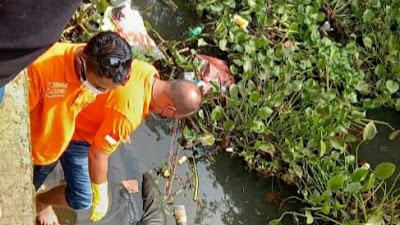 Jasad Lelaki Ditemukan di Sungai Desa Tonsea Lama