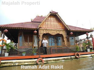Desain Bentuk Rumah Adat Rakit dan Penjelasannya, Rumah Adat Bangka Belitung
