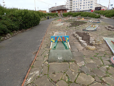 Princess Parade Crazy Golf in Blackpool, September 2020