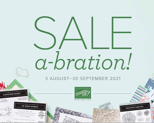 August/September 2021 Sale-a-bration