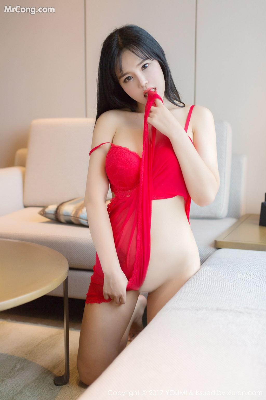 Image YouMi-Vol.064-Liu-Yu-Er-MrCong.com-021 in post YouMi Vol.064: Người mẫu Liu Yu Er (刘钰儿) (46 ảnh)