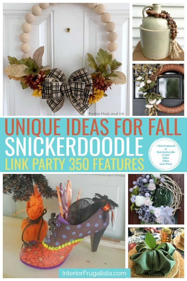 Unique Ideas For Fall - Snickerdoodle Party 350 Features