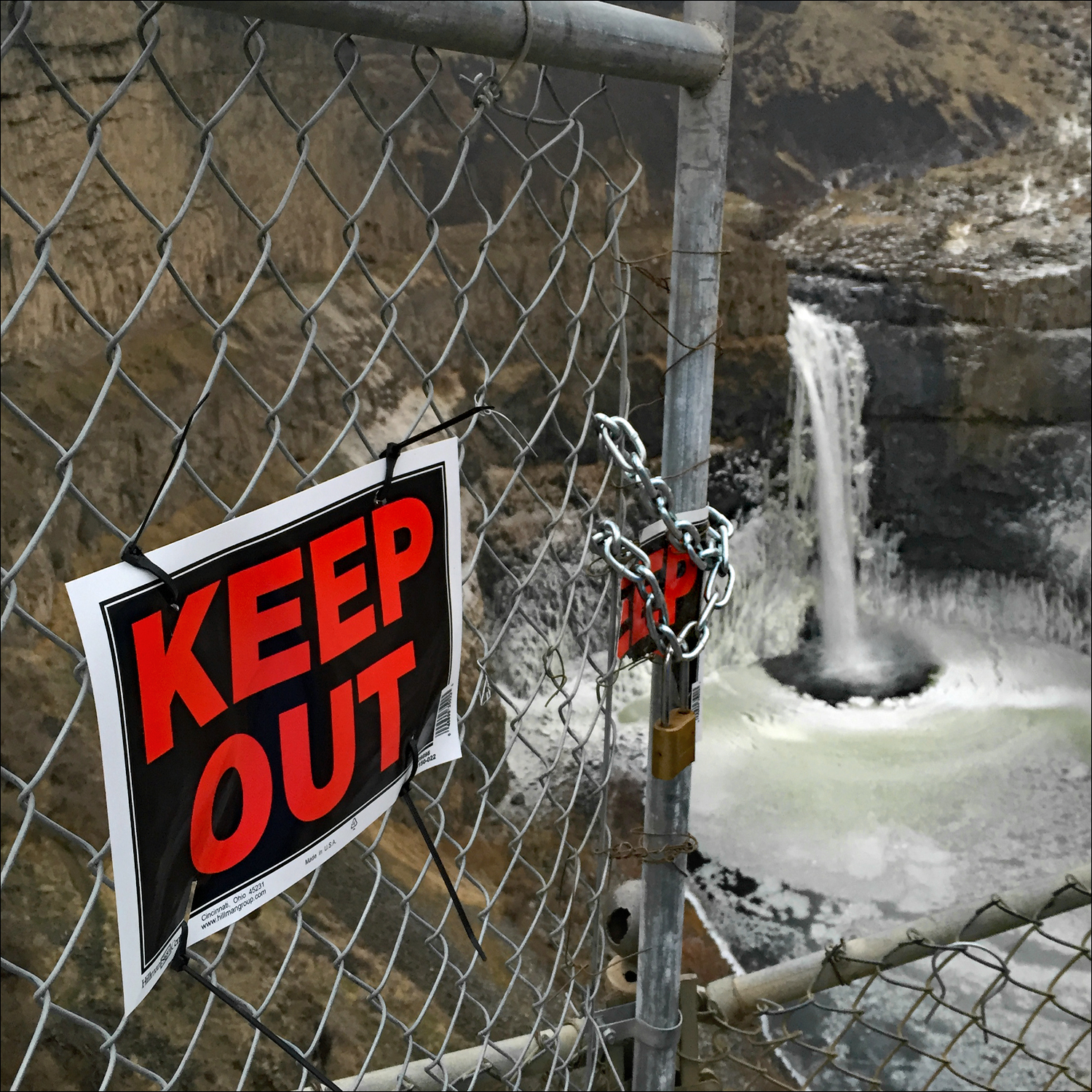 Ice Age Floods Hiking Closure At Palouse Falls State Park