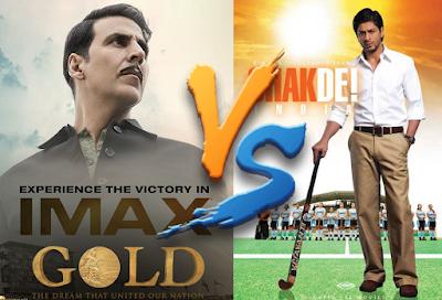 शाहरुख खान की फिल्म 'चक दे इंडिया' से 'गोल्ड' की तुलना, अक्षय कुमार ने दिया जवाब ?