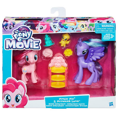 MY LITTLE PONY : The Movie - La Película Pinkie Pie & Princesa Luna   Dulces Fiestas - Dulce Celebración - Festividades  Muñecos - Figuras  Producto Oficial 2017 | Hasbro C2492 CAJA JUGUETE