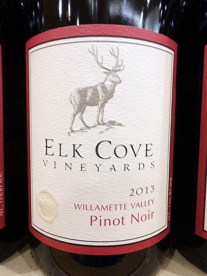 Elk Cove Pinot Noir 2013 (90 pts)