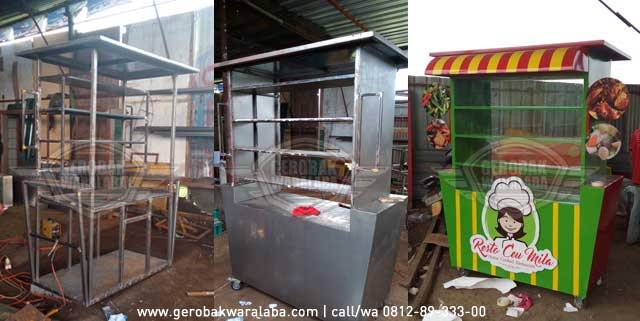 desain dan produksi booth makanan karawaci