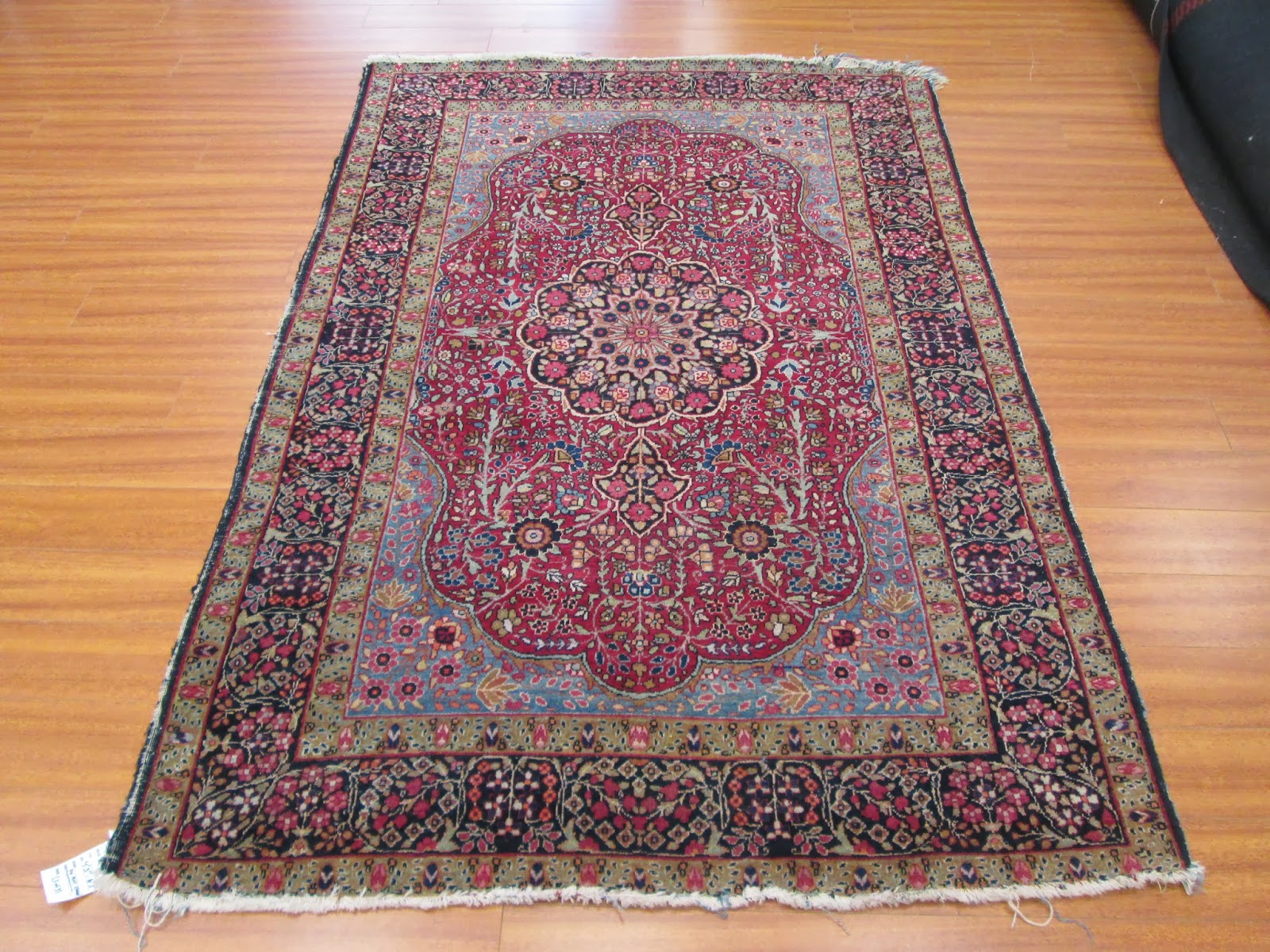 This Time We Received A Pair Of Hand Knotted Antique Persian Farahan Carpets Sent To Us By Very Reble Rug Collector From Miami Florida