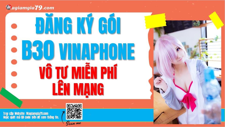 Đăng ký gói B30 Vinaphone