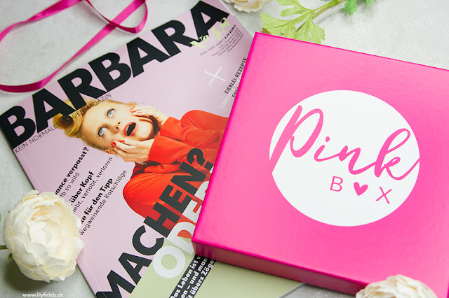 Pink Box - August 2020 - unboxing