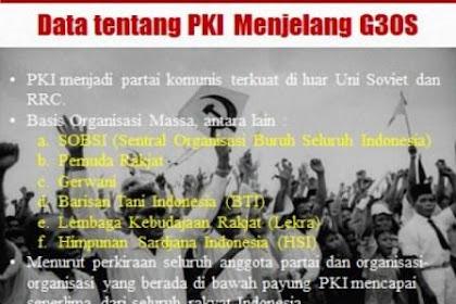Gerakan 30 September 1965 (G30S/PKI)