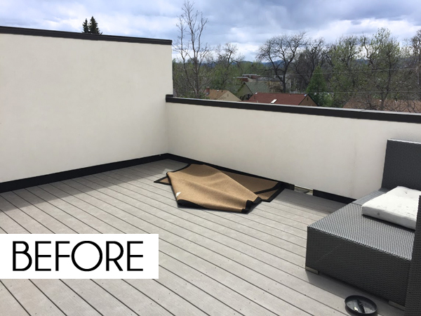 Perfect But This Rooftop Deck Clearly Has Tons Of Potential! It Just Needs A Little  Vision, Comfy Furniture, And Some Vibrant Color To Turn It Into The Coolest  Spot ...