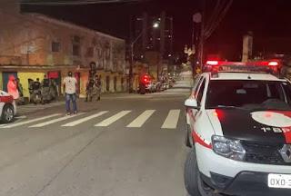 Homem morre após ser baleado por trás do Palácio da Redenção, em JP