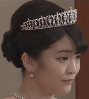 diamond tiara princess mako akishino japan