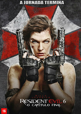 Filme Poster Resident Evil 6: O Capítulo Final