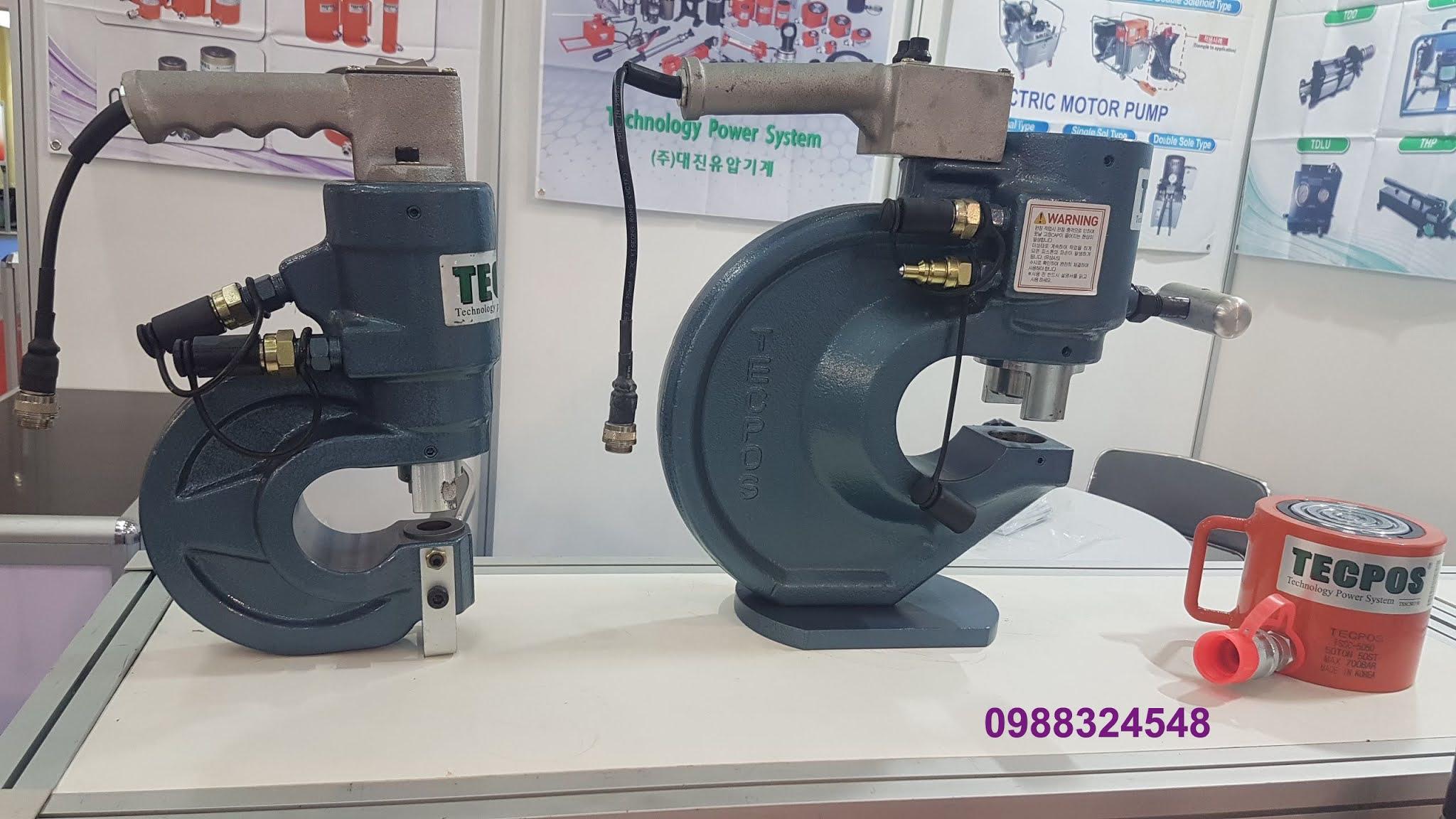 Kích thủy lực Tecpos 50 tấn TSSC-5050, hành trình 50mm