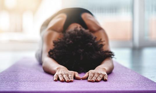 yoga exercise practice