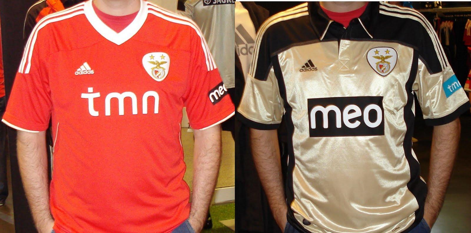 a45fcadc7 Será esta a nova camisola oficial do Benfica para a temporada 2011 2012. A  camisola fabricada pela Adidas