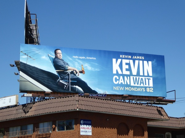 Kevin Can Wait series premiere billboard