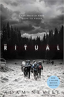 Photo of the book cover of The Ritual by Adam Nevill