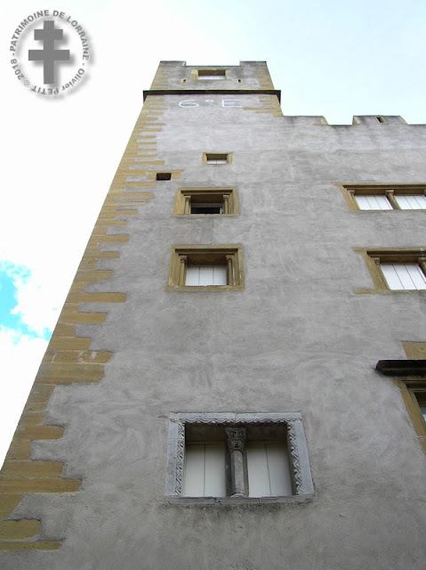 METZ (57) - Hôtel Saint-Livier (XIIe siècle)