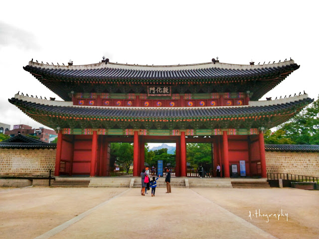 donhwamun gate di Changdeokgung Palace & Secret Garden/Huwon (창덕궁과 후원)