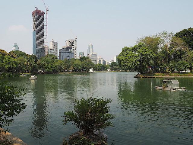 Бангкок, парк Люмпини (Bangkok, Lumpini Park)
