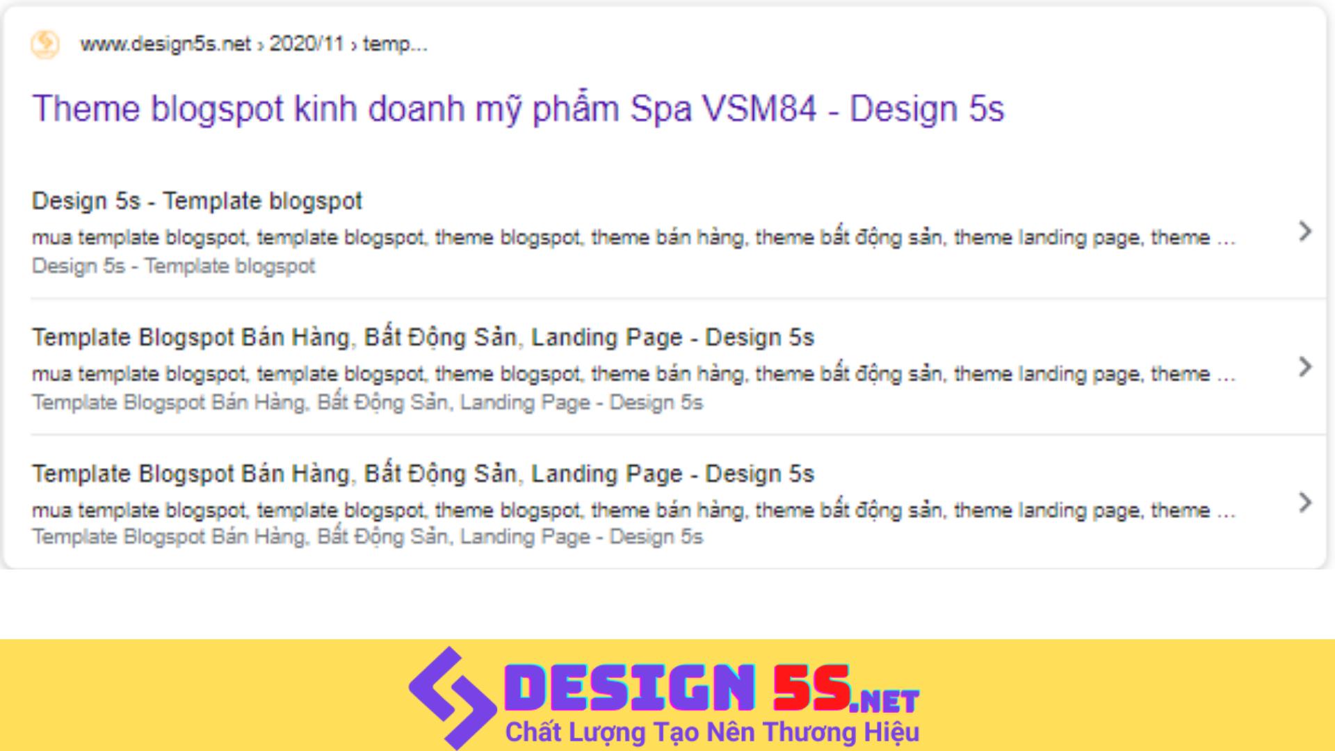 Thêm sitelink Course  tập liên kết cho blogspot - Ảnh 2