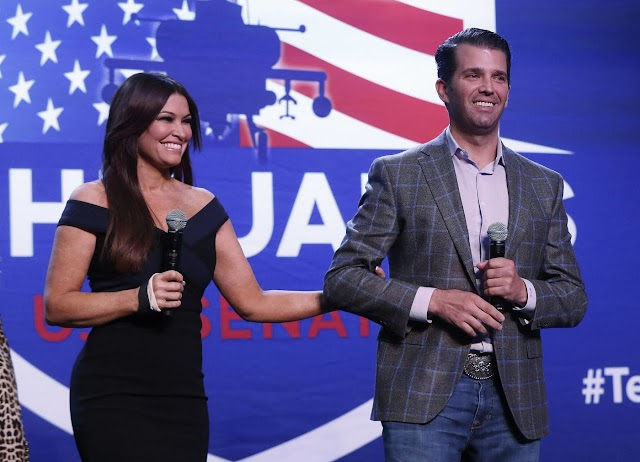Kimberly Guilfoyle, Donald Trump Jr.'s girlfriend and top Trump campaign official, tests positive for Coronavirus