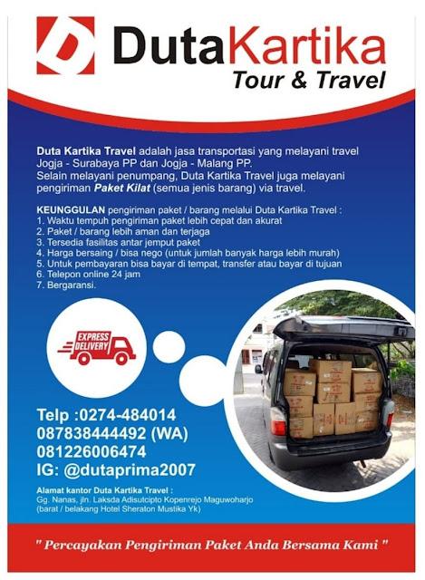 Paket Kilat Jogja Malang