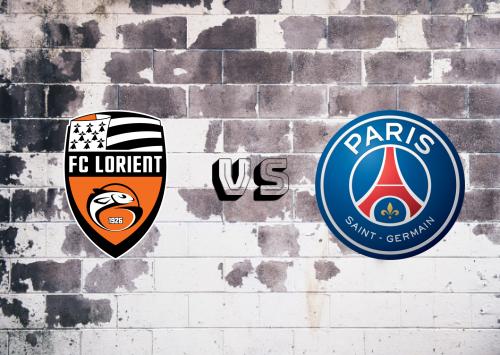 Lorient vs PSG  Resumen