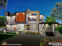 3d View With Plan - Kerala Home Design And Floor Plans