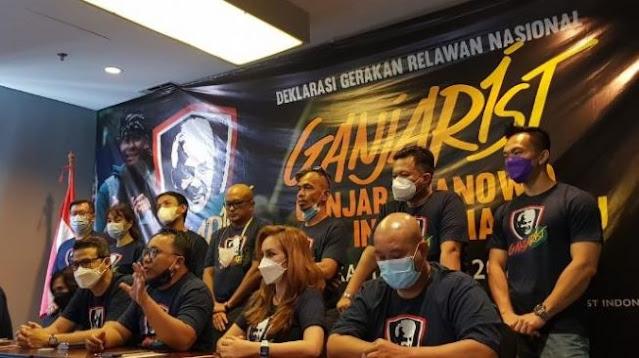 Pendukung Ganjar Pranowo Capres 2024 Deklarasikan Relawan Ganjarist
