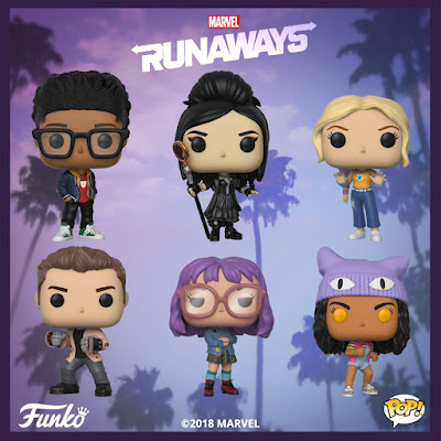 Marvel's Runaways Pop! Television Series Vinyl Figures by Funko