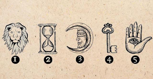 Вы хотите узнать, придет ли вам счастье в ближайшем будущем? Выберите один из символов и посмотрите, что находится под ним.