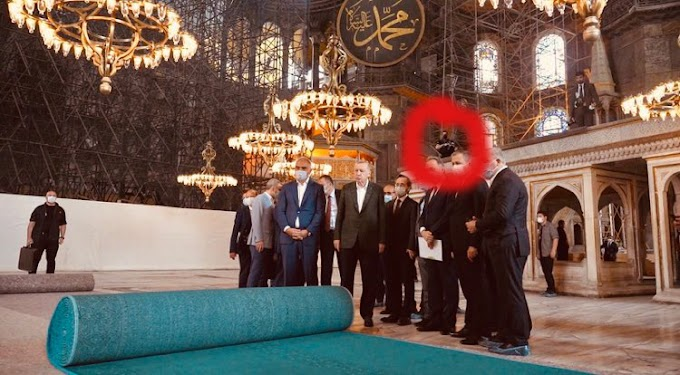 Μπήκαν στην Αγια Σοφιά οι εχθροί με τ΄αυτόματα..Έντρομος ο Ερντογάν πλέον ξέρει το ριζικό του….
