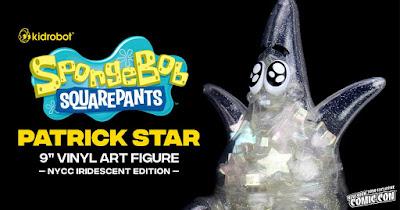 New York Comic Con 2020 Exclusive SpongeBob SquarePants Iridescent Patrick Star Vinyl Figure by Kidrobot
