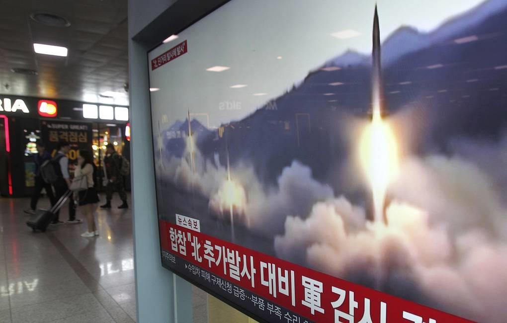 Jepang mengumumkan Korut meluncurkan dua rudal jarak pendek