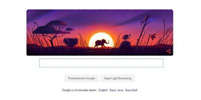 Hari bumi 2016 google