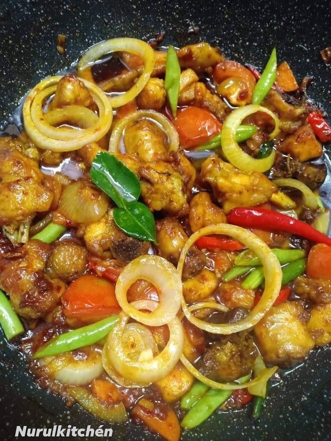 Resepi Paprik Ayam Paling Simple