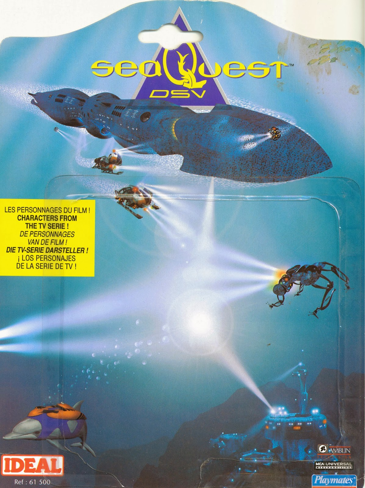 Seaquest DSV Action Figure Canada