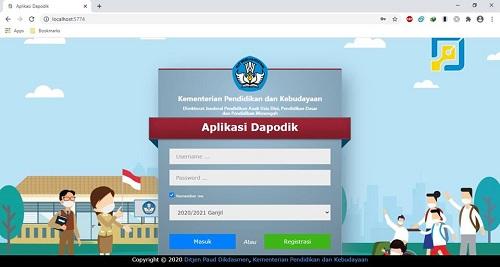 Cara Instal Dan Registrasi Dapodik Versi 2021 Sinau Thewe Com