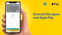 Ourocard Elo agora no Apple Pay bb.com.br/applepay