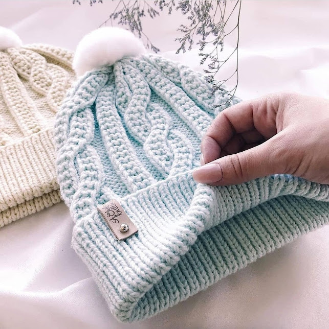 В копилку будущей зимы: красивая шапочка c аранами.