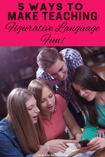 5 ways to make teaching figurative language fun