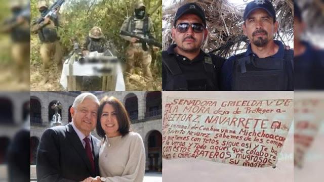 El CJNG va contra El Toro y El Teto capos de la Costa Michoacana e involucra a Senadora Gricelda Valencia