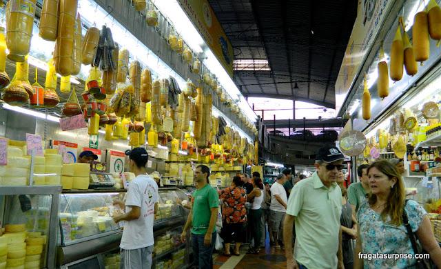 Queijaria do Salim, no Mercado Central de Belo Horizonte