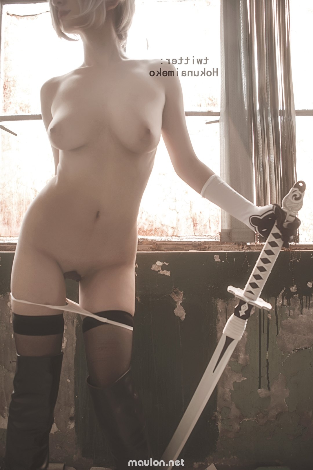 MauLon.Net - Ảnh sex Nữ samurai thèm trai