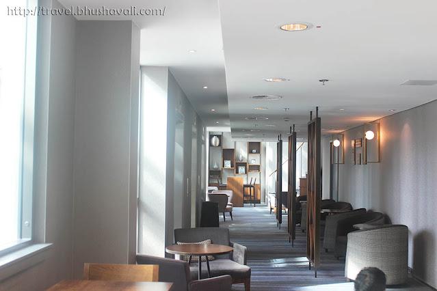 HILTON FRANKFURT CITY CENTRE Executive Lounge